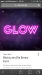 War die Emmy auf der Glow?