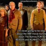 Wer zündet das Haus der Weasleys an?