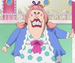 Die wie vielte Tochter von Big Mom ist Badges Ehefrau Chiffon?