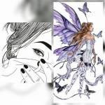 ((purple))Name: Searwen Moonlight((epurple)) *Spitzname: / Alter: 17 Geschlecht: W Wesen: Elfe Zimmer: Polarlichter Menschliche Form: Sie trägt schul