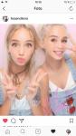 Auf welcher App haben Lisa und Lena in Japan Live Streams gemacht?