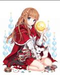 Alice: Sie ist eine junge Frau im Alter von 19 Jahren. Sie hat leicht orange bis hellbraune Haare und blau graue Augen. Das wars auch erstmal später