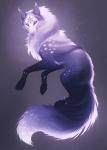 Moon als Wolf
