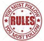 Die Regeln Kommen wir nun zu den heißgeliebten Regeln: 1. )Bitte kommt so oft wie möglich online, ich habe keine Lust, wenn das RPG direkt nach