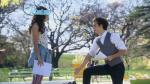 Welches Theaterstück proben Luna und Matteo auf einer Bank?