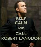 Unter was leidet Robert Langdon?
