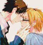 Ich und Miki kennen uns seit ich denken kann und wir sind beste Freunde. Ich hab schon zeitig gemerkt dass ich ihn liebe... Aber trotzdem können wir