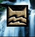 ((bold)) Fluss-Clan: ((ebold)) Lager: Das Lager des FlussClans befindet sich auf einer großen Insel, die von Schilf umgeben ist und nur durch schwimm