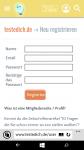 Schritt 1: Registrieren