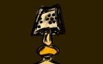 Eine Lampe (Was für eine spannende Idee! XD)