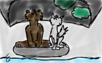 Donnerherz und Faolan (kurz vor dem Winter:))