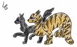Wildherz und Nusspelz (aus meiner FF Wildherz ;))