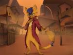 Name: Capper (Capper the Thief-Cat) Alter: 17 Aussehen: * siehe erstes Bild* Bande: --- Arbeitet als: Dieb, Kopfgeld-jäger und Trickbetrüger, nimmt