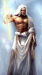 ((bold))ZEUS((ebold)) Ist der oberste olympische Gott und mächtiger als alle anderen Götter zusammen. Über ihm standen nur die Moiren (Schicksal),