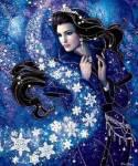 ((bold))CHIONE((ebold)) Chione wird entweder als Nymphe oder kleinere Göttin der sanften Brisen und des Schnees angesehen. Rang: Göttin ((purple))CL
