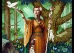 ((bold))Demeter((ebold)) Ist die Göttin der Fruchtbarkeit, der Erde und des Ackerbaus. Sie ist eine Schwester des Göttervaters, hat jedoch eine geme
