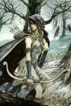 ((bold))ARTEMIS((ebold)) Ist die jungfräuliche Göttin der Jagd und des Mondes. Sie ist die Tochter des Göttervaters und der Titanin Leto. Artemis i