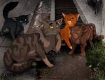 Die Katze, die in der zweiten Staffel die auserwählten Katzen begleitet hat, hieß Charles.