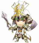 Samurai Warriors putzige Charakterbilder