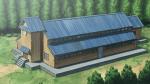 ((bold))Das Waisenhaus((ebold)) Das Haus ist lang und geräumig. Die Wände sind außen aus hellem Holz, in den Gängen ebenfalls, jedoch sind die Zim