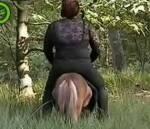 Ist es schädlich für den Pferderücken, wenn man zu schwer für ein Pferd ist?