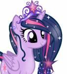 Twilight Sparkle ist die Prinzessin der Freundschaft.