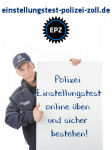 Polizei Einstellungstest - jetzt üben und bestehen!