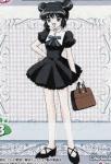 Mein dritter Chara: Name: Mint Anime/Manga: Tokyo Mew Mew Aussehen: kurze schwarze Haare, dunkel Blaues Kleid, weiße Kniestrümpfe Zimmer: Lila Bezie