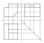Wie viele Ebenen stehen bei einer 3-T-P senkrecht aufeinander?