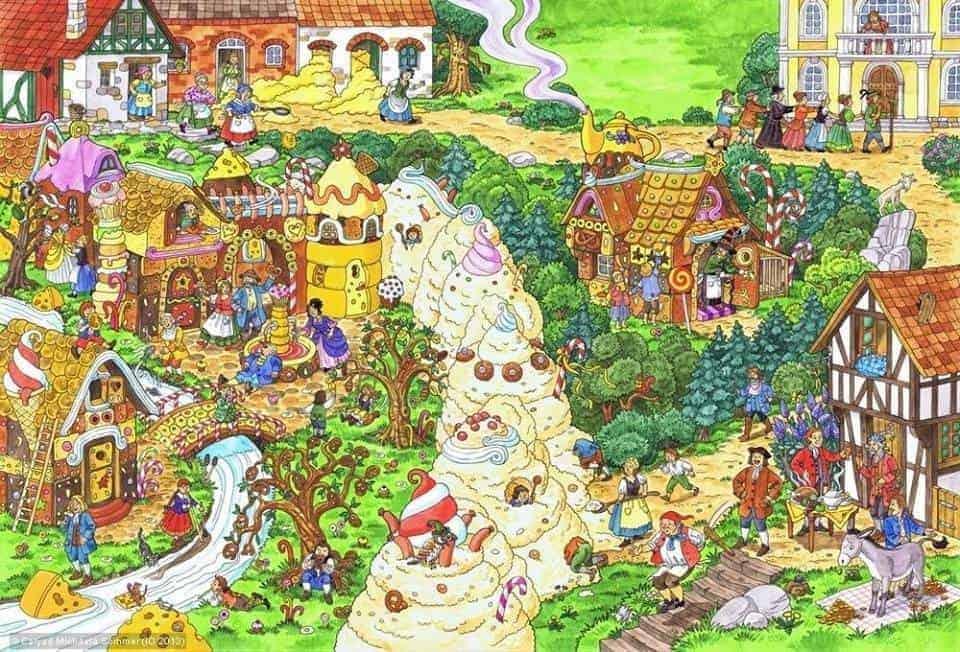 Das Märchen Vom Schlaraffenland