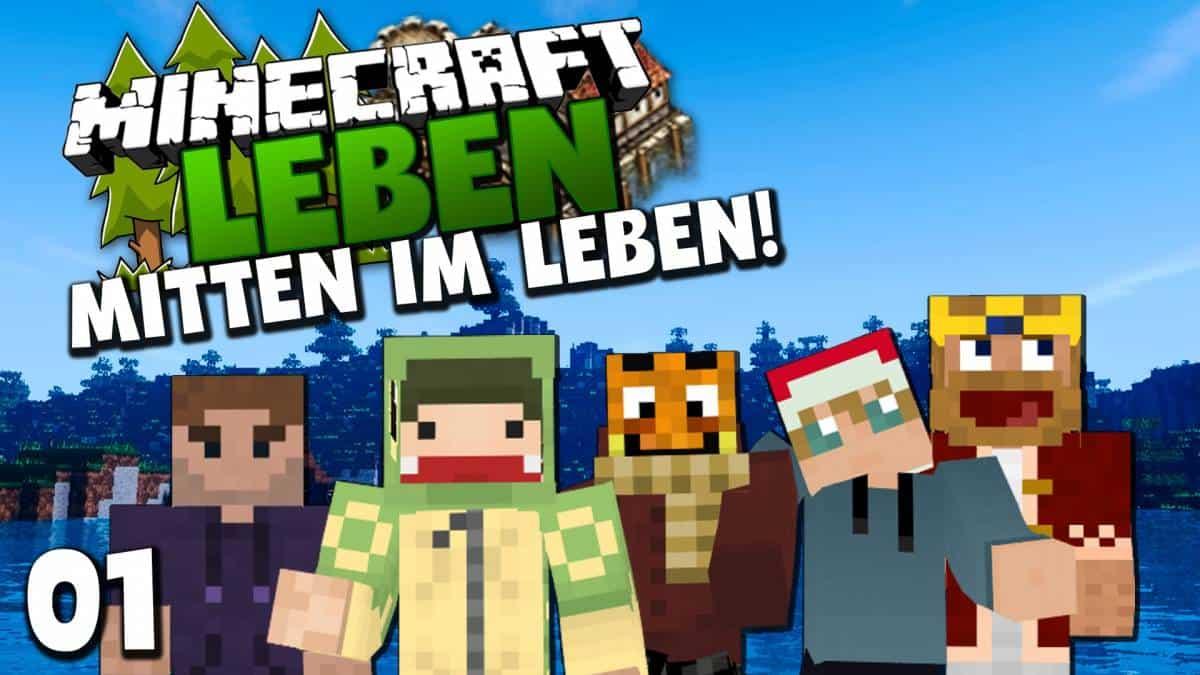 Palutens Projekte - Minecraft leben jetzt spielen