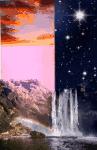 """Zusammen geschnittener Hintergrund von """"Wall des Wassers"""" <3"""