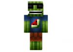 Paluten hat einen Melonen-Minecraft-Skin?