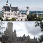 Schloss und Festung: Das Schloss ist der eigentliche, prachtvolle Wohnsitz der Königsfamilie.Es ist unglaublich groß und luxuriös ausgestattet.Perf