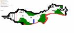 ((bold))Details - der Norden((ebold)) ((cur))Legende((ecur)) Die kleinen orangenen Sterne sind kleine Stützpunkte 1: Hauptstützpunkt/lager/haus/unte