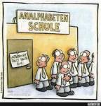 """1. Lehrerin: """"Timo! Weißt du, welches Wort die Schüler am meisten benutzen?"""" - Timo: """"Keine Ahnung."""" Lehrerin: """"Richtig!&qu"""
