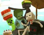 Welches Minecraft Monster bist du?