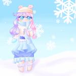 Ein kleines Winterchibi^^.