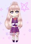 Wahrscheinlich ein neuer OC uwu. Ich denke ich werde ihr Outfit noch einmal ändern... sie hat übrigens auch noch keinen Namen, auch wenn ich an so w