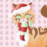 Frohe Weihnachten wünscht euch christmas cherrypaw XD ❤🎅