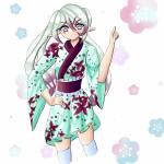 Ich hab meinen alten OC Umeko redesignt ^^