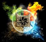 ((big))hierachie((ebig)) Anführer: ((bold))Funkenstern((ebold)) – Feuer rote Kätzin (Feuer) 2. Anführer: ((bold))Windfeuer((ebold)) -- schwarz we