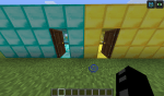Das sind die Räume der Betreiber. Sie bestehen aus Gold- bzw. Diamantblöcken.