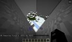 Hier sieht man das Schneegebiet. Um zur 2. Tür zu kommen, muss man einen Jump'n'Run absolvieren.