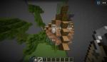 Hier sieht man das Dschungelbiom, mit einem kleinen Easter Egg: der Wolf heißt Skyla, wie Flaechekueste50's 1. Chara!
