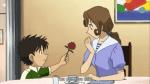 Shinichis Mutter kennt Kaito Kid persönlich, da sie seinen Vater kannte.
