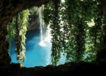 ((big))Der See ((ebig)) Es gibt einen See in dieser Höhle wo du baden gehen kannst oder einfach nur zum Spaß schwimmen Ich zeig dir am besten gleich