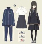 Die Schuluniform 1.Schuluniform der Mädchen Die Sommerschuluniform der Mädchen besteht aus... -einer weißen Bluse mit einer kleinen Tasche -einem d