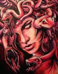 ((bold))Die Gorgonen((ebold)) Die Gorgonen sind die Töchter des Phorkys und der Keto. Ihre Namen sind Stehno, Euryale und Medusa. Die drei Schwestern
