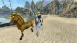 Wie heißt das Pferd von Alex?